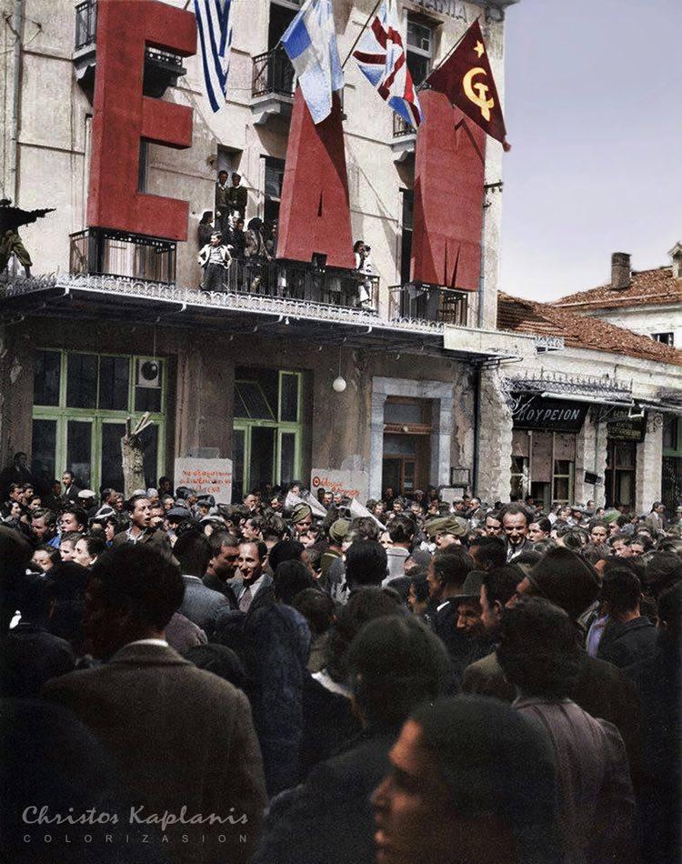 Πολυκατοικίες του Δεκέμβρη. Κυψέλη, Πατησίων και Εξάρχεια-Νεάπολη. Το νεκροταφείο των αγωνιστών του ΕΛΑΣ και ο Λόχος «Μπάιρον»